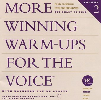 More  Winning Warm-ups for the Voice Mezzo - DP10